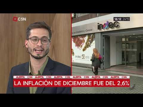 La inflación del 2018 fue de 47.6% según el INDEC