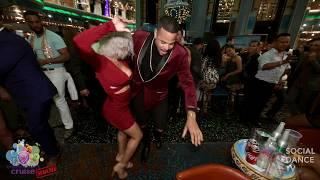 Fausto Felix & Katlyn Rodriguez - Salsa Social Dancing | Aventura Dance Cruise - Miami 2018