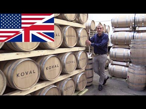 Whiskey Distillery Tour: Koval