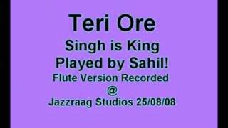Teri Ore - Singh is King - (Flute / Bansuri Cover) by Sahil Khan | WWW.SAHILKHAN.COM