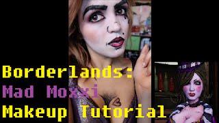borderlands mad moxxi   makeup tutorial