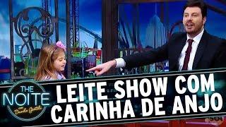 Leite Show com Carinha de Anjo: Viagem pra Disney ou Araraquara? | The Noite (05/12/16)