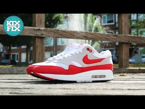 Nike Air Max 1 Anniversary OG Red Full Restoration KixFix