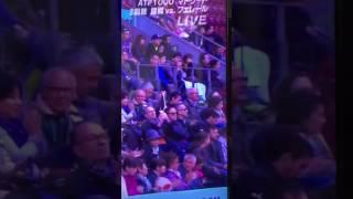 マドリードオープン2017  錦織圭の試合を観戦する観月あこ 観月あこ 検索動画 28