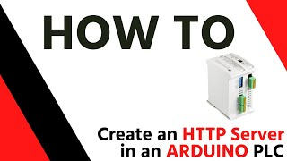 So erstellen Sie einen HTTP-Server in einem M-Duino PLC