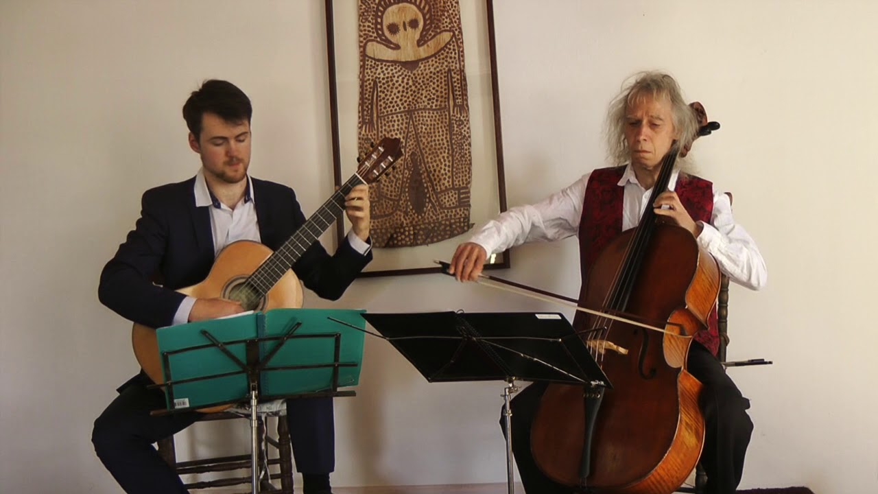Beethoven Sonatina / Cello & Guitar Duo