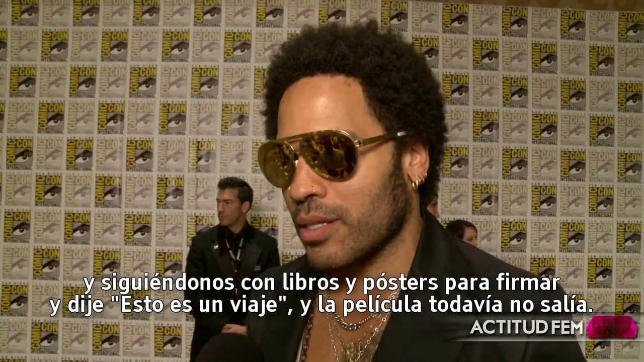 Entrevista Con Lenny Kravitz Los Juegos Del Hambre En Llamas
