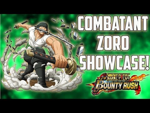 """STRONGEST DEFENDER IN THE GAME !"" COMBATANT ZORO SHOWCASE! 