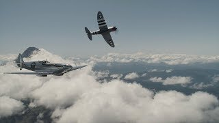Silver Spitfire pilot log week five: water salute welcome in Canada