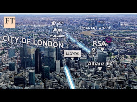 How Brexit disruption will change London's financial centres l FT