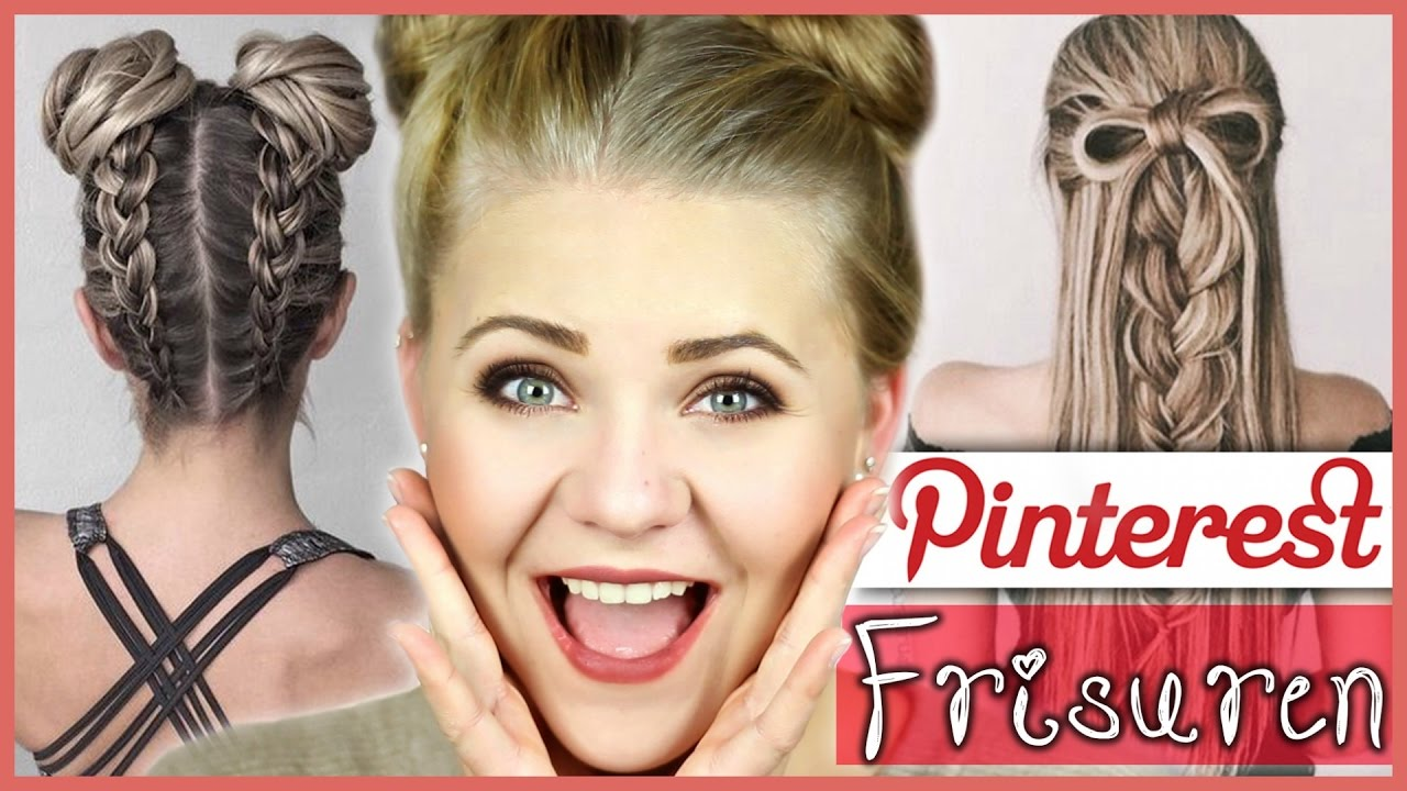 How To Do Pinterest Hairstyles Bows Upside Down Braids