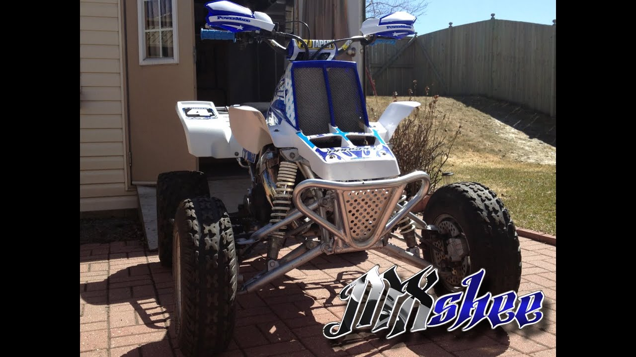 1999 Yamaha Banshee Pro Circuit Idle walk around