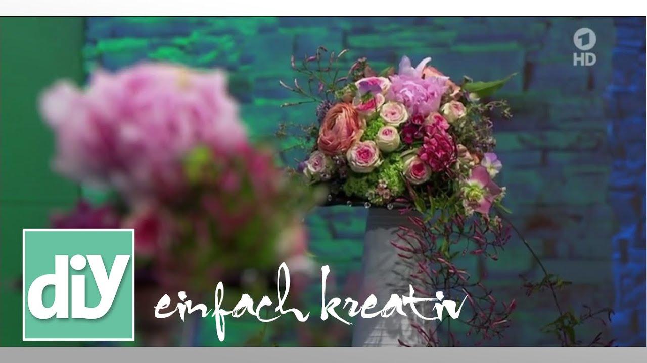 Brautstrauss Zum Selbermachen | DIY Einfach Kreativ   YouTube