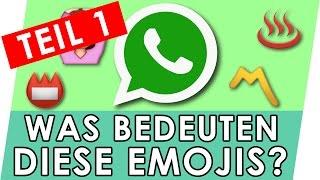 Emojis Bedeutung erklärt - Teil 1 (Special) 🙆📛〽♨ Whatsapp Emojis und Smileys thumbnail