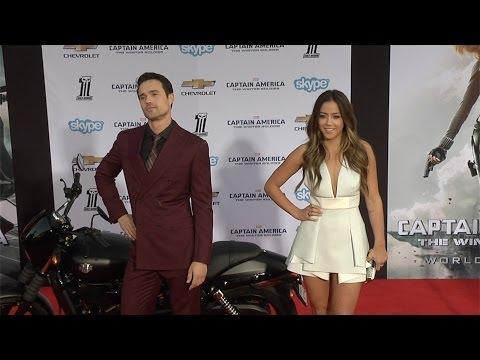 """Chloe Bennet and Brett Dalton """"Captain America: The Winter Soldier"""" World Premiere"""