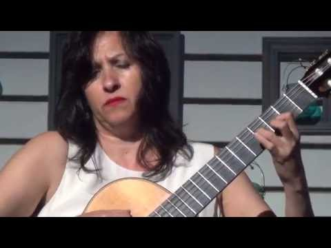 Mirándote By Eduardo Martín. Iliana Matos, Guitar. Live In Concert.