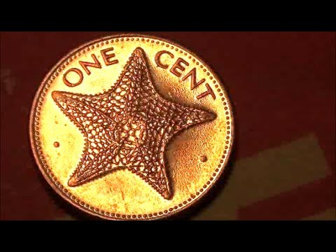 Have You Seen A One Cent Coin Like This Before Coin Roll Hunting Foreign Coin Finds Youtube