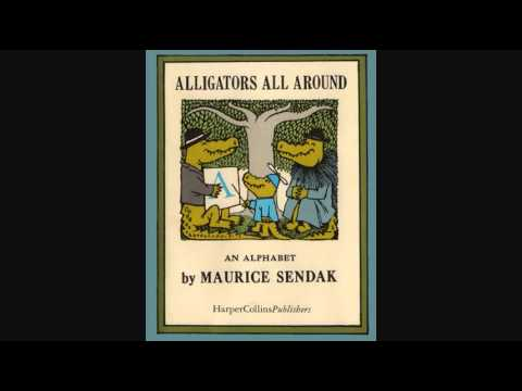 Alligators All Around by Maurice Sendak Narrated by Tammy Grimes
