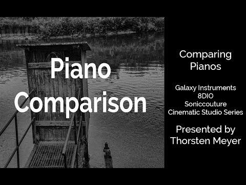 Piano Comparison Improvisation (Galaxy Instruments, 8DIO, Soniccouture, Cinematic Studio Series)