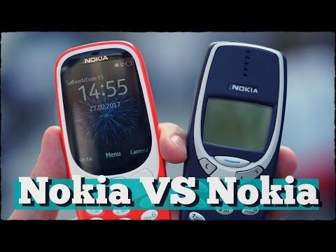 Сравнение: Nokia 3310 против Nokia 3310 (2017)
