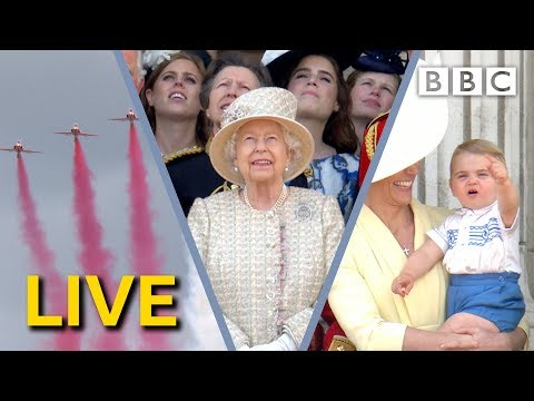 Trooping the Colour LIVE 2019 | The Queen's Birthday Parade - BBC
