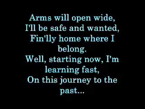 Journey to The Past   lyrics