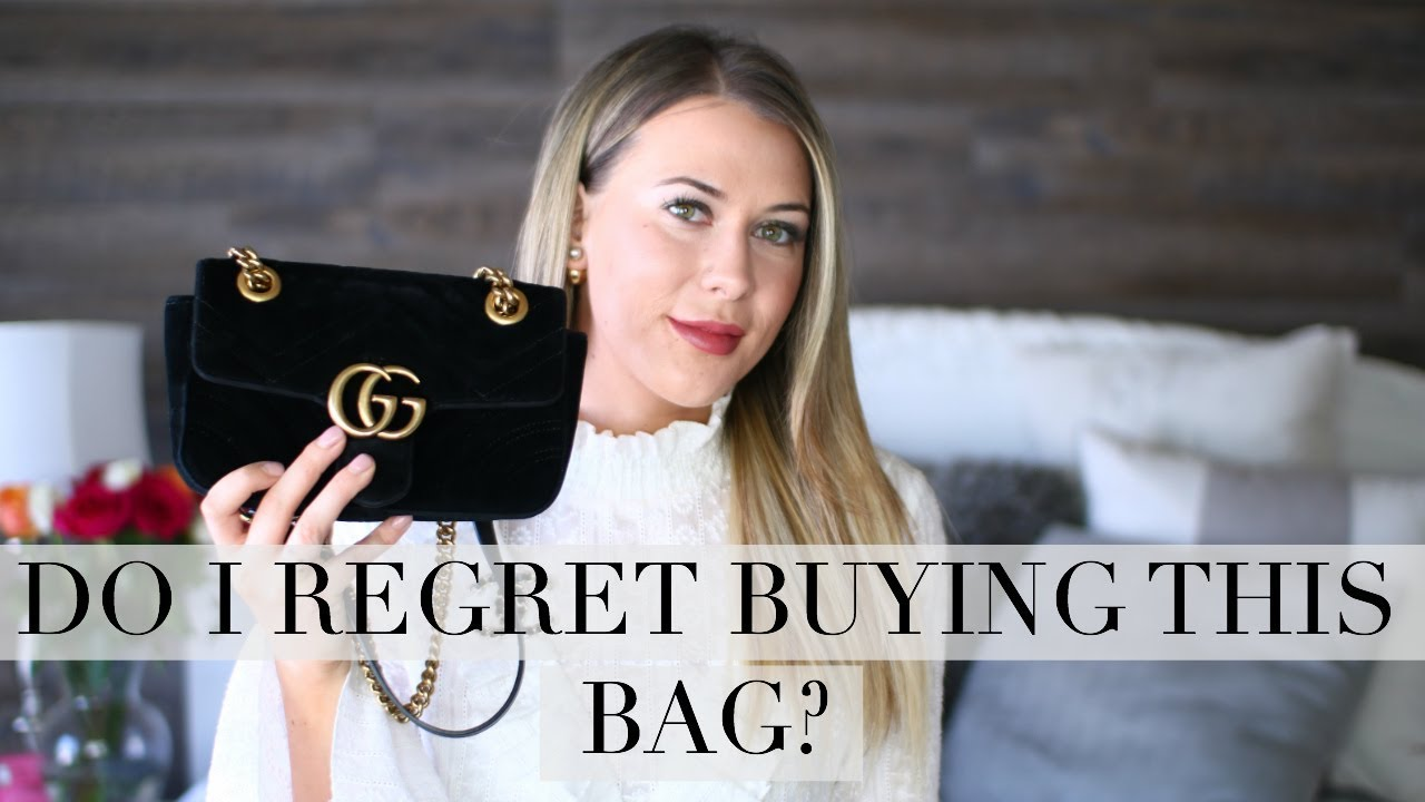 b07939c36d9a GUCCI MARMONT VELVET MINI | REVIEW + WHAT FITS INSIDE - YouTube