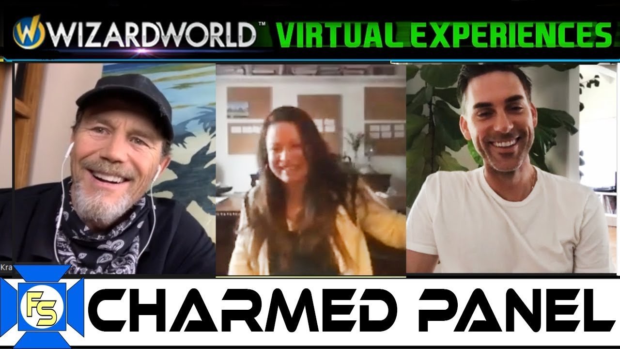 Download CHARMED Cast Panel – Wizard World Virtual Experiences 2020