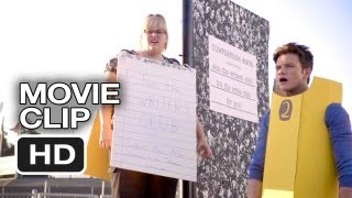 Struck By Lightning Movie CLIP - Cheer Float (2013) Chris Colfer, Rebel Wilson Movie