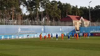 Георгий Цитаишвили с пенальти открывает счет в матче с AndquotМариуполемandquot U-21