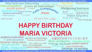 MariaVictoria   Languages Idiomas - Happy Birthday