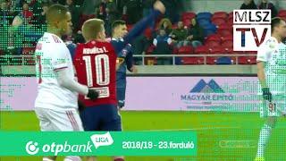 Mol Vidi FC – Kisvárda Master Good | 2-1 | (0-1) | OTP Bank Liga | 23. forduló | MLSZTV