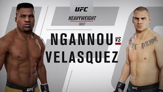 Francis Ngannou vs. Cain Velasquez: UFC Fight Night | Ngannou vs. Velasquez: UFC 3 Simulation