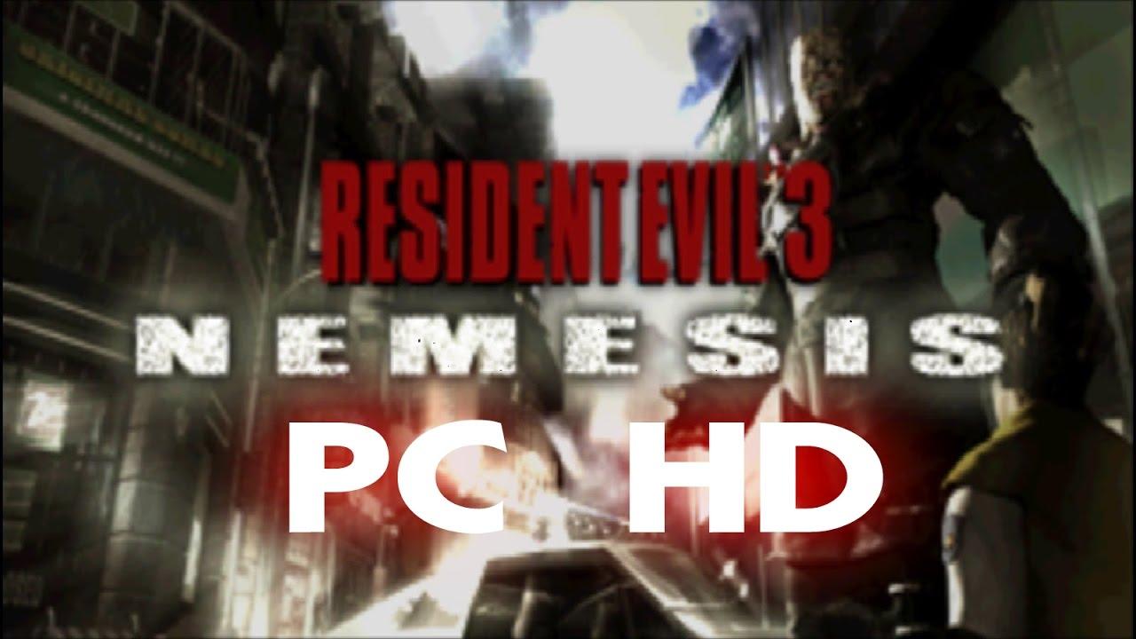 RESIDENT EVIL 3 NEMESIS PC + PATCH HD TUTORIAL