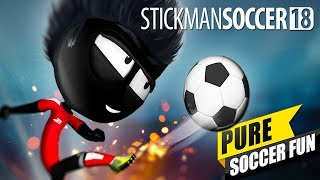 Stickman Soccer 2018 - Android/iOS Gameplay (Gamepad Support)