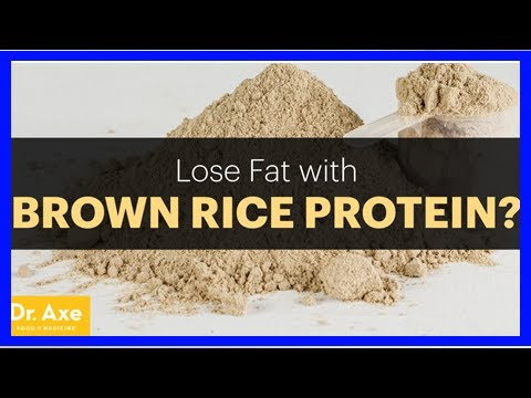 Brown Rice Protein Powder: Lose Weight & Build Muscle?