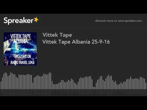 Vittek Tape Albania 25-9-16