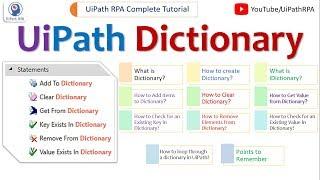 Get Dictionary Value Uipath