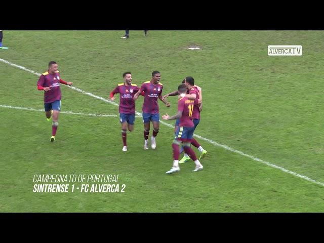 Sintrense 1 FC Alverca 2 - Highlights