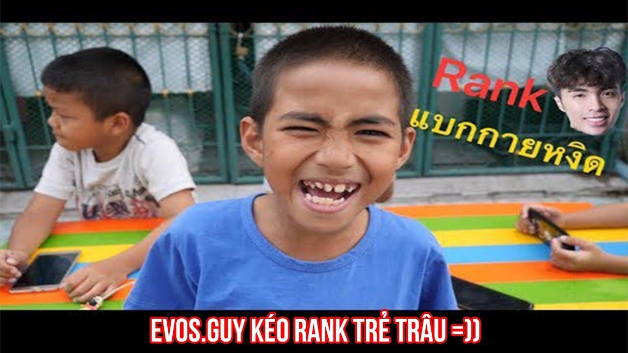 EVOS.Guy Kéo Rank Trẻ Trâu Thái Lan Cực Gắt =)) | ROV highlights |펜타스톰