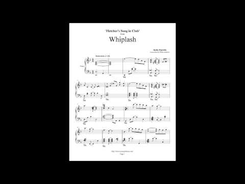 Whiplash Piano Cover - Fletcher's Song In Club - Justin Hurwitz