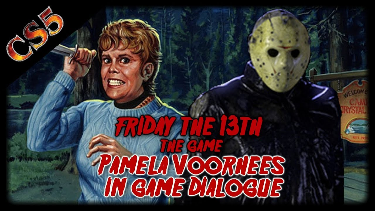all pamela voorhees in game dialogue from friday the 13th the game