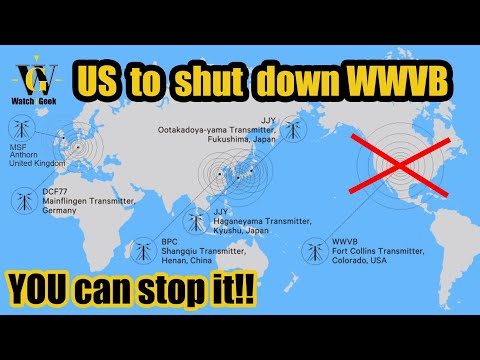 US NIST stations to be shut down, let's stop it!!! - YouTube