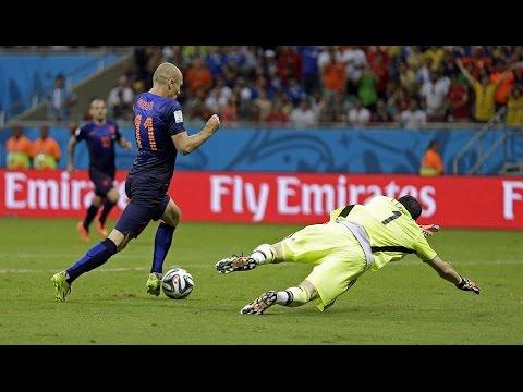 Netherlands V.S Spain  ● 5 - 1 Group B WC 2014 ● Full Highlights HD