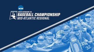 2018 NCAA DIII Baseball Mid-Atlantic Regional - GAME 15