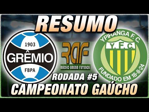 Grêmio x Ypiranga Ao Vivo l Campeonato Gaúcho l Narração