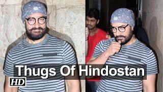 revealed aamir khans look in thugs of hindostan