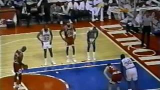 Michael Jordan 40 pts vs. Pistons - 1991