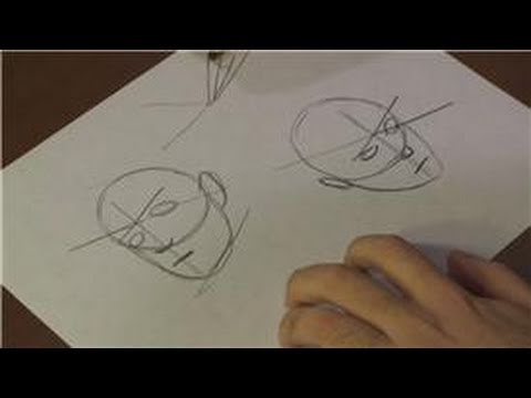figure-drawing-:-how-to-draw-faces-at-angles