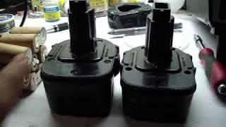 Восстановление полностью разряженого аккумулятора DeWalt